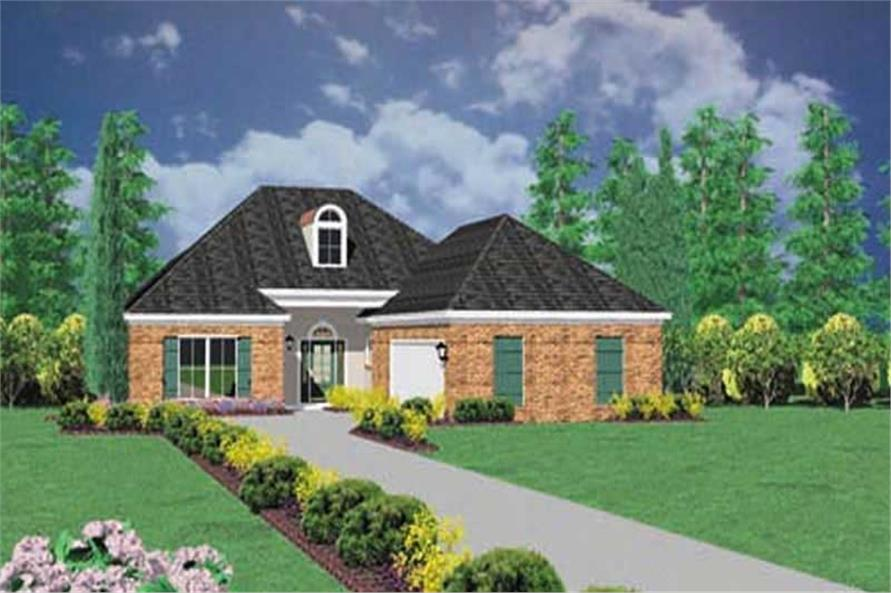 Main image for house plan # 7999