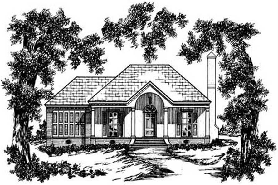 Main image for house plan # 8022