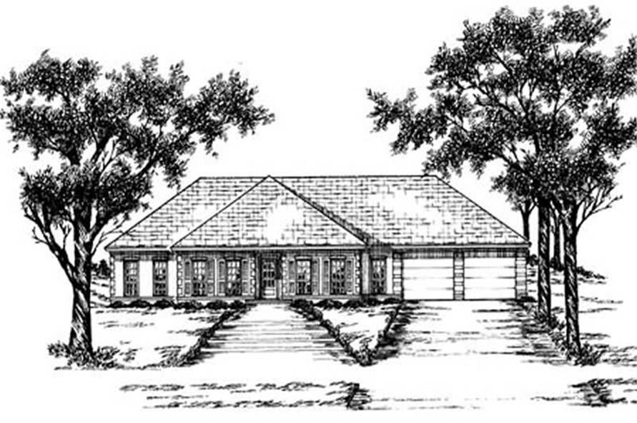 Main image for house plan # 8007