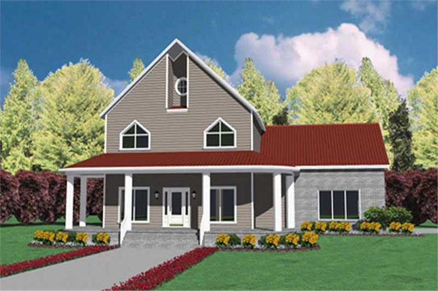 Main image for house plan # 7948