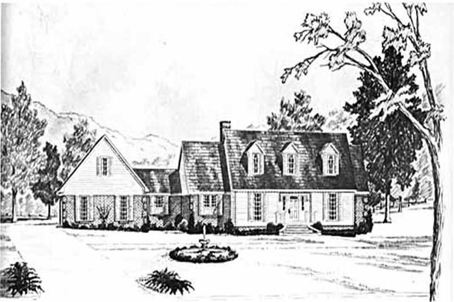 Main image for house plan # 7961