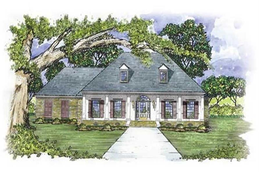 Main image for house plan # 7985