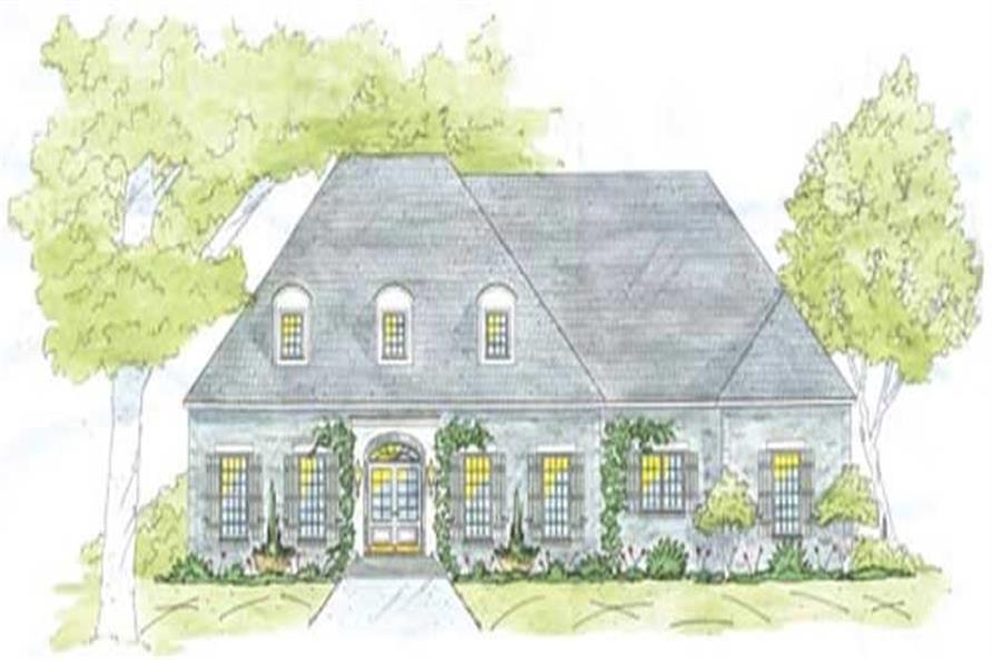 Main image for house plan # 9656