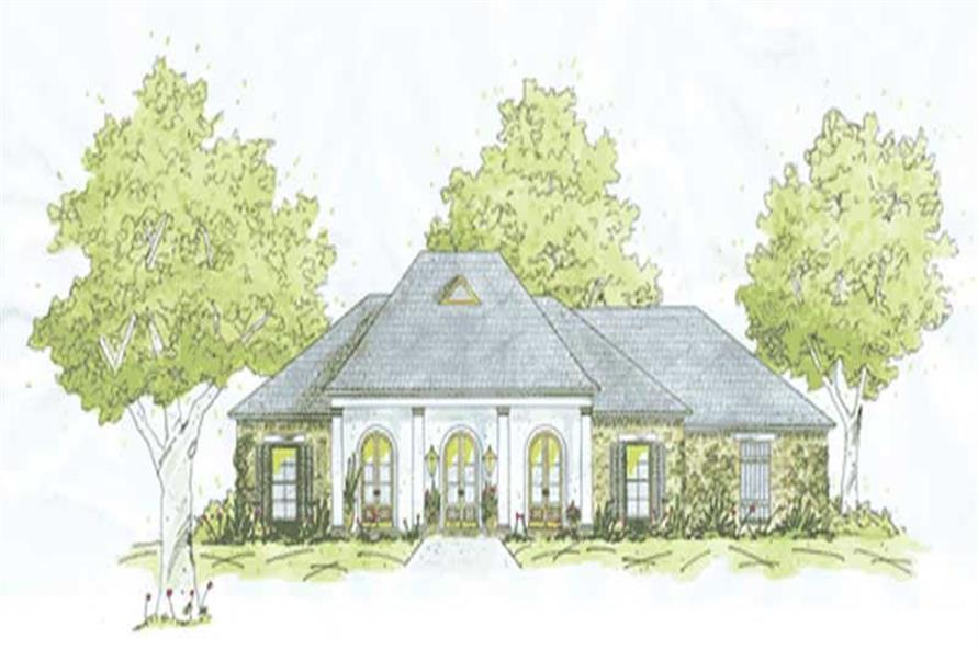 Main image for house plan # 9641