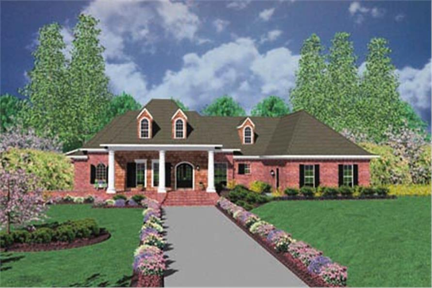 Main image for house plan # 7896