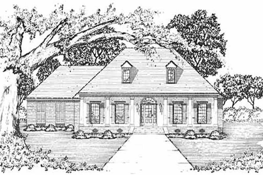 Main image for house plan # 7986