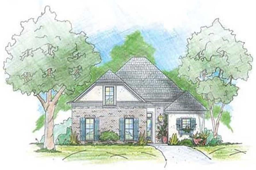 Main image for house plan # 9636