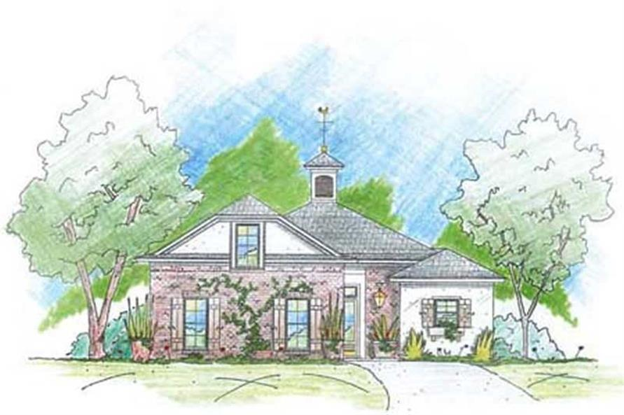Main image for house plan # 9637