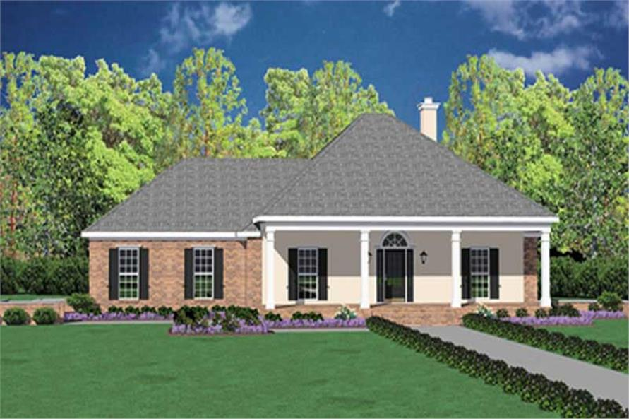 Main image for house plan # 7974