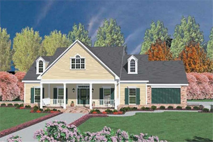 Main image for house plan # 7973