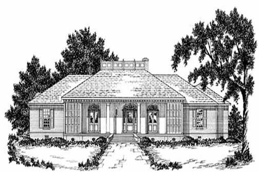 Main image for house plan # 7938