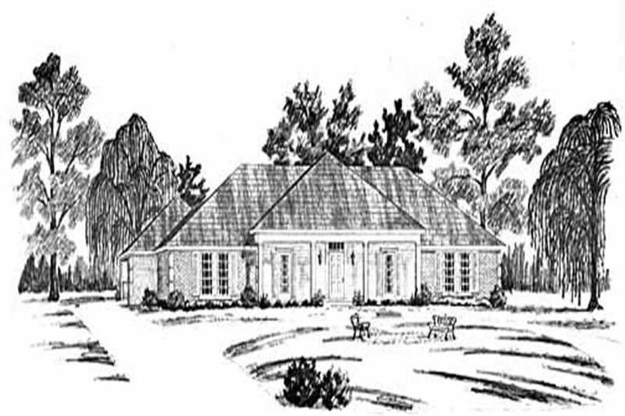 Main image for house plan # 7997
