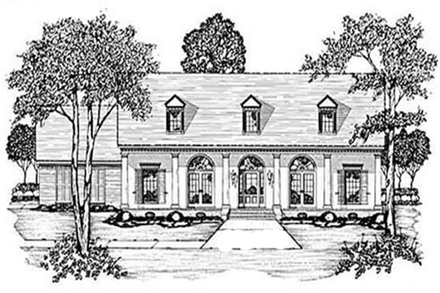 Main image for house plan # 7992