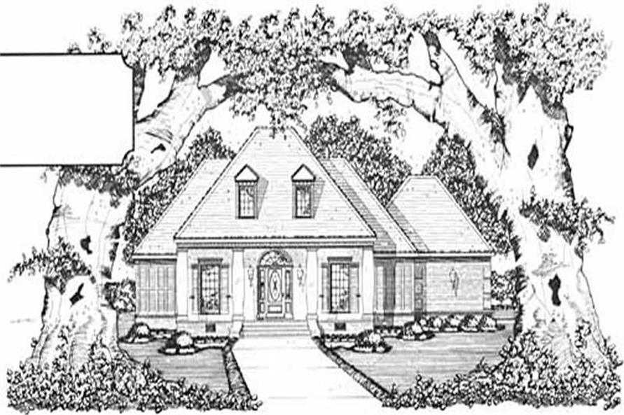 Main image for house plan # 7991