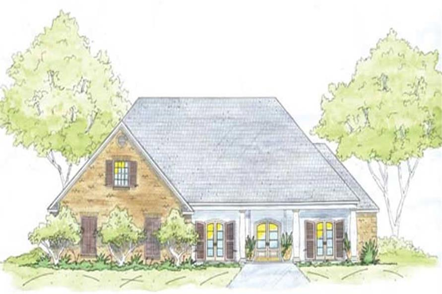 Main image for house plan # 9653