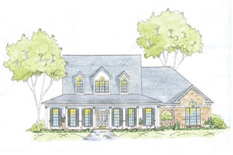 Main image for house plan # 9651