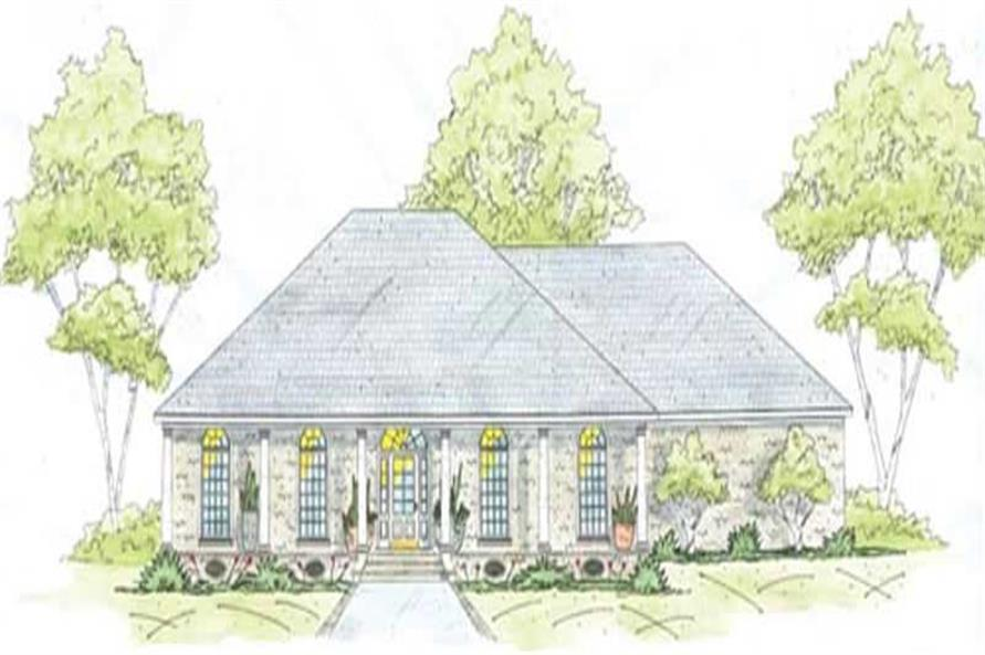 Main image for house plan # 9648
