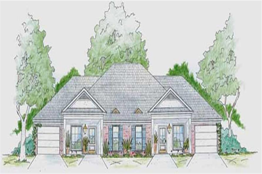 Main image for house plan # 9642