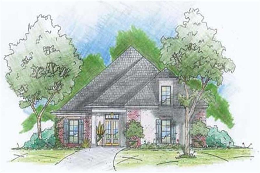 Main image for house plan # 9638