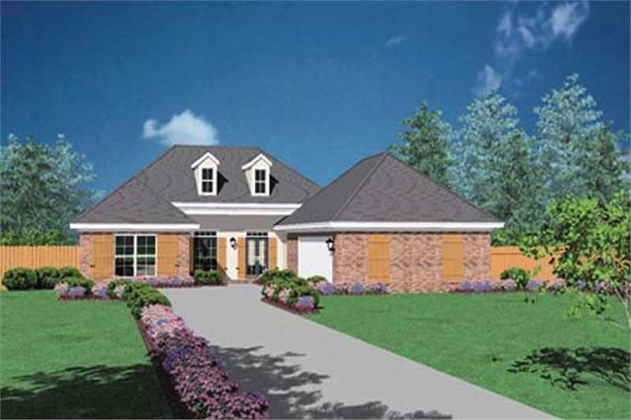 Main image for house plan # 8063