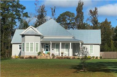3–4-Bedroom, 2841 Sq Ft Ranch House - Plan #140-1113 - Front Exterior