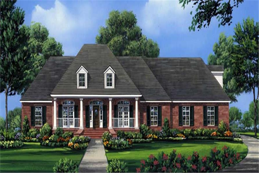 Main image for house plan # 16294