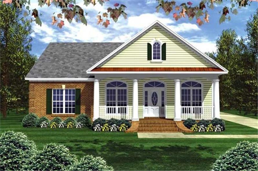 Main image for house plan # 16934