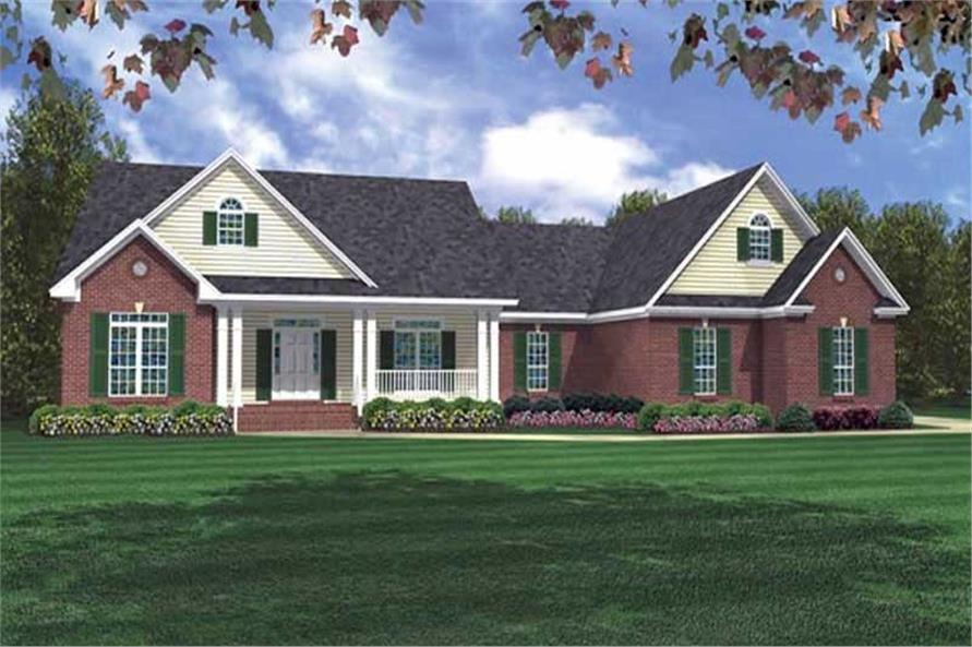 Main image for house plan # 16937
