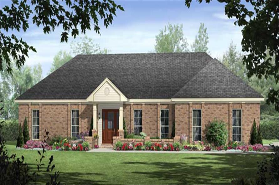 Main image for house plan # 18655