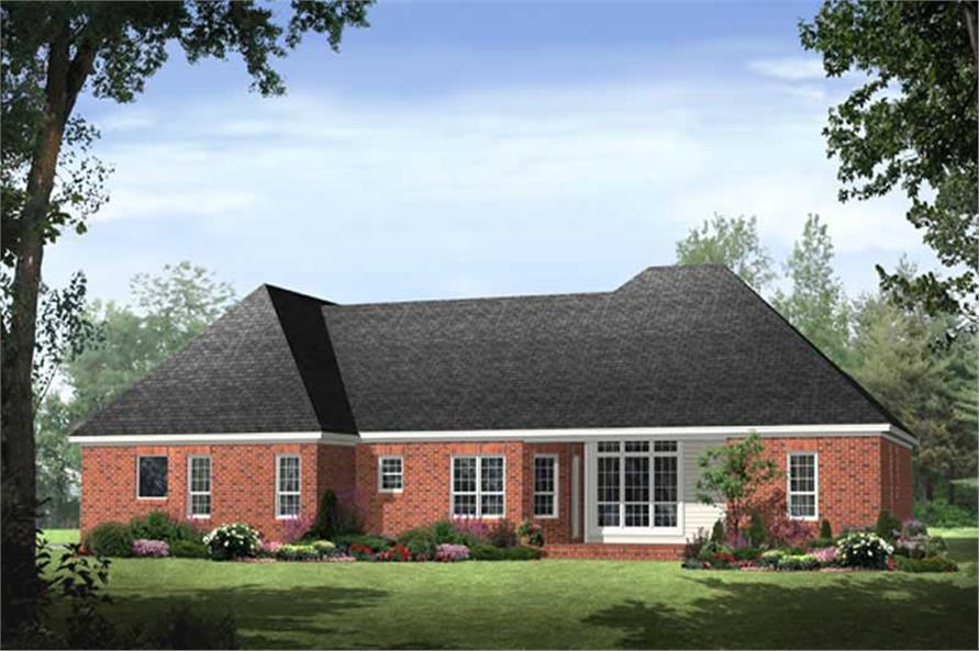 House Plan #141-1011