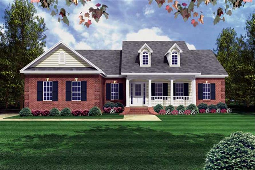 Main image for house plan # 16269