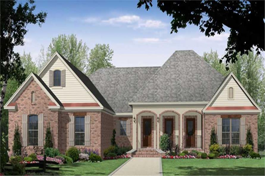 Main image for house plan # 16288