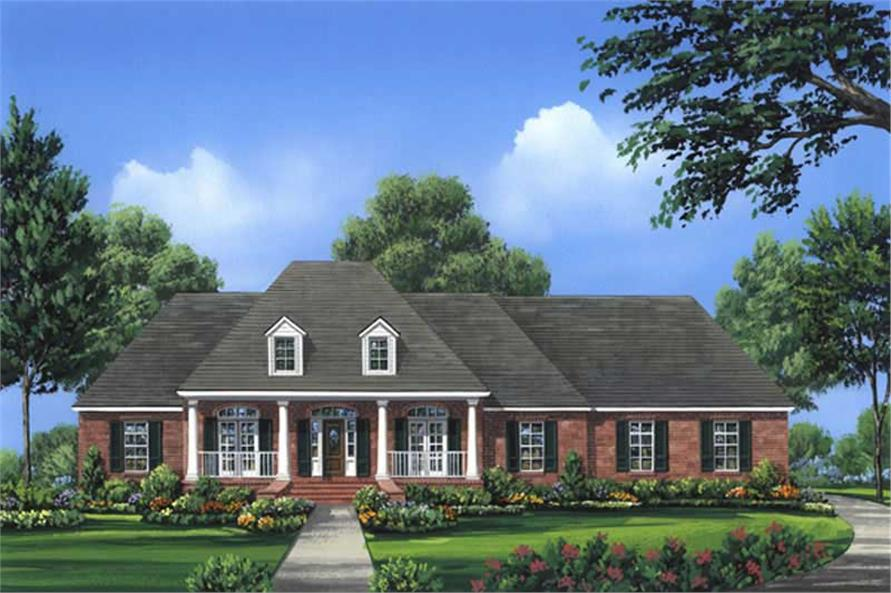 Main image for house plan # 16293