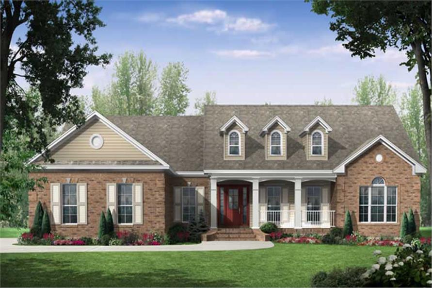 Main image for house plan # 16285