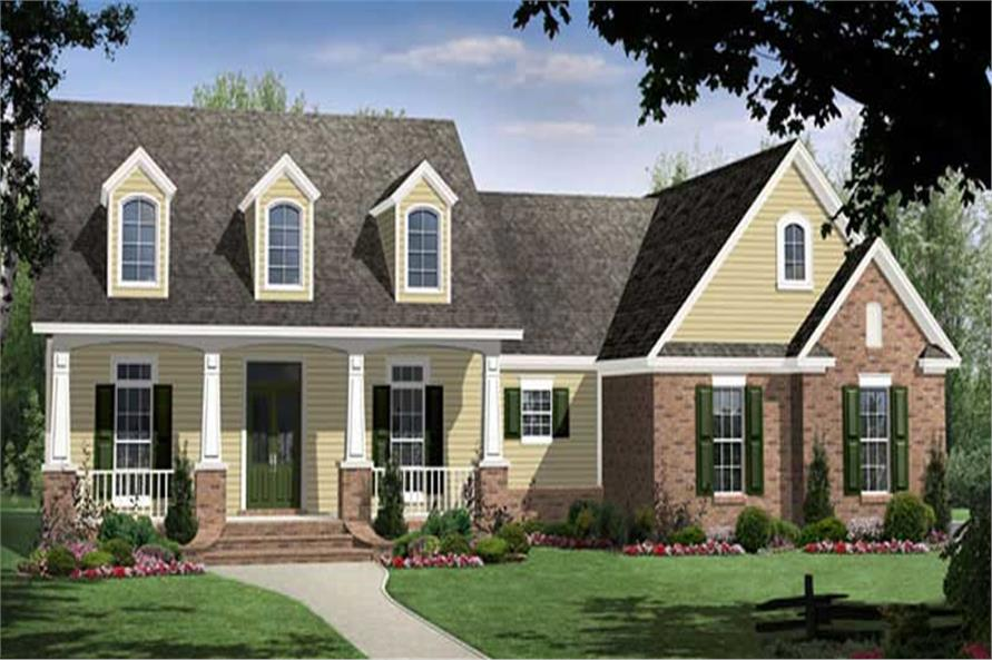 Main image for country home plans # HPG-2266-1