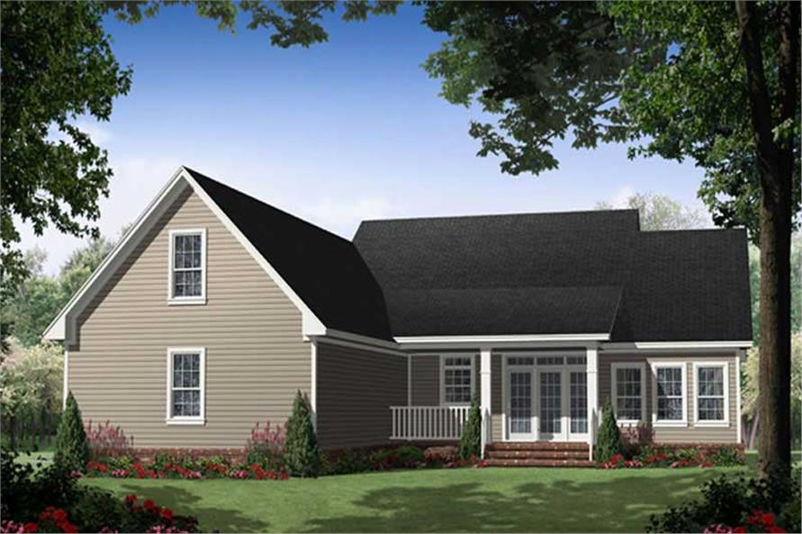 House Plan #141-1032