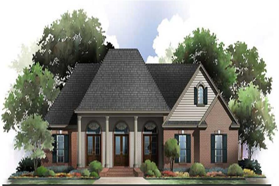 Main image for house plan # 20659
