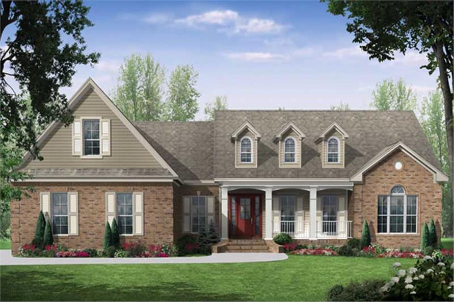 Main image for house plan # 18708