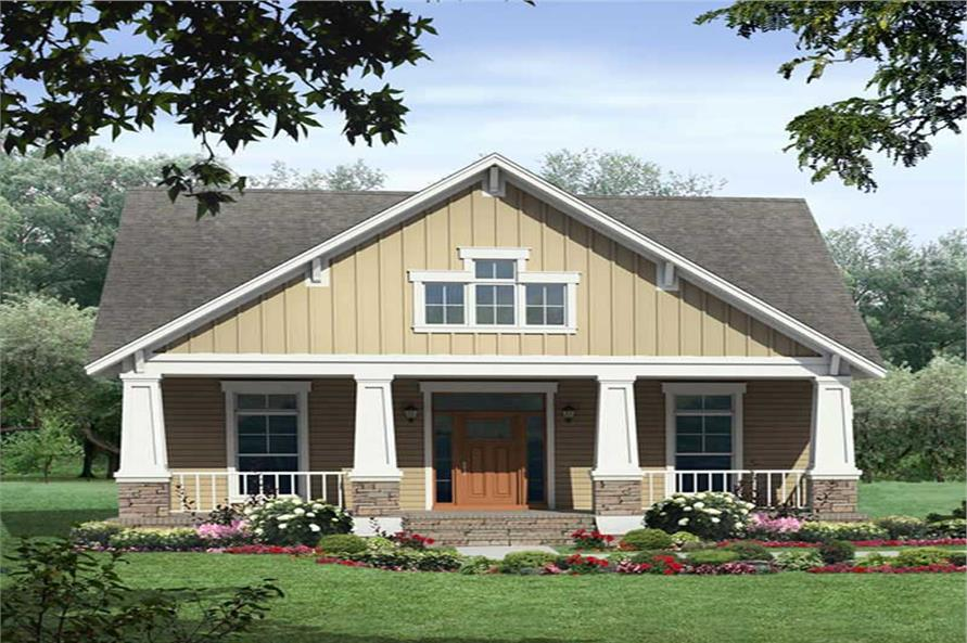 Main image for house plan # 17872