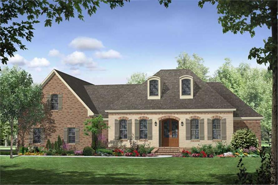 Main image for house plan # 18766
