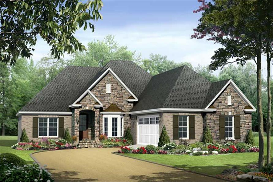 Main image for house plan # 18684