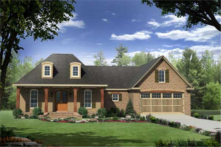 Main Image for Country Home Plans # HPG-1879