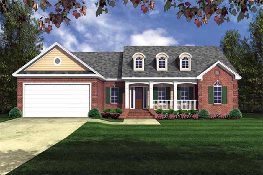 Main image for house plan # 16278