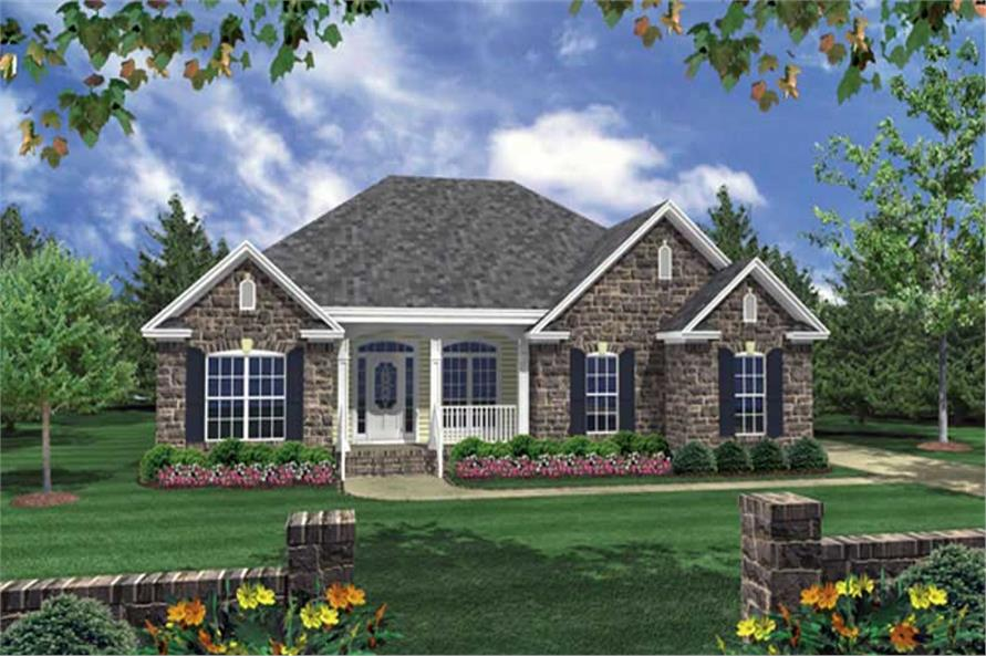 Main image for house plan # 16273