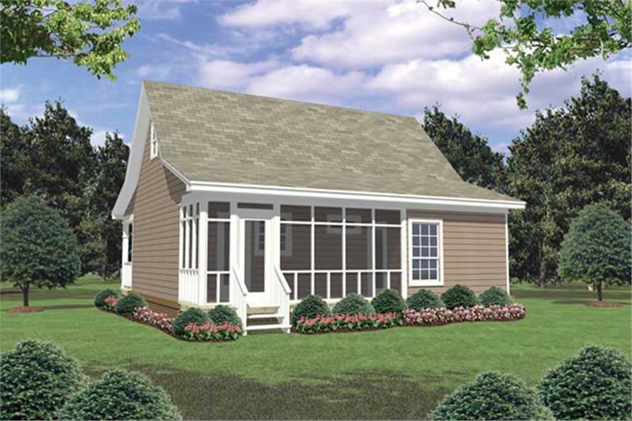 House Plan #141-1078