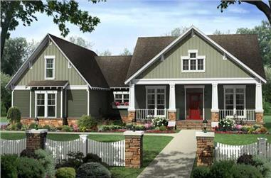 4-Bedroom, 2199 Sq Ft Country Home - Plan #141-1107 - Main Exterior