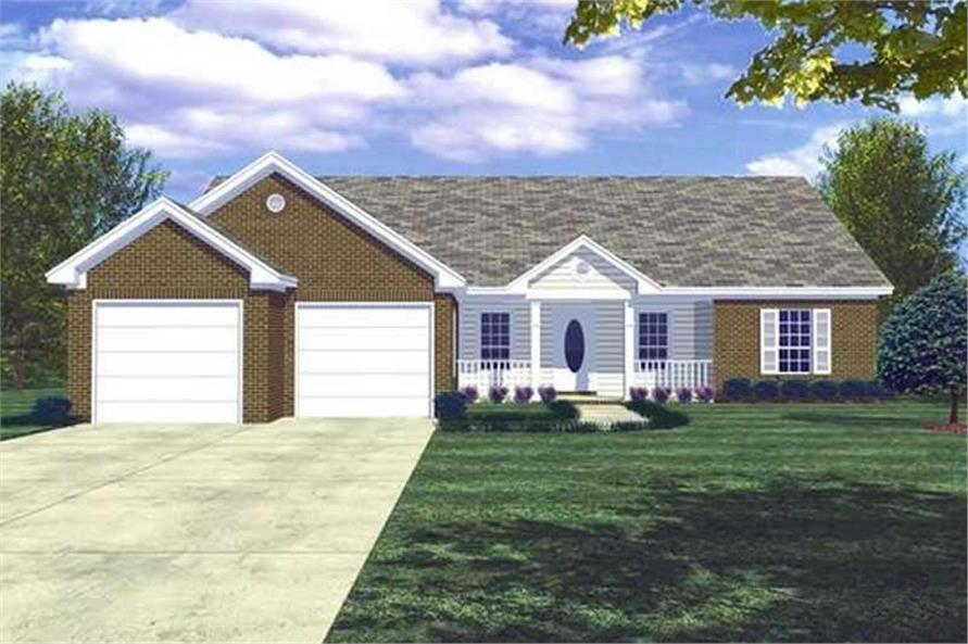 Main image for house plan # 7824