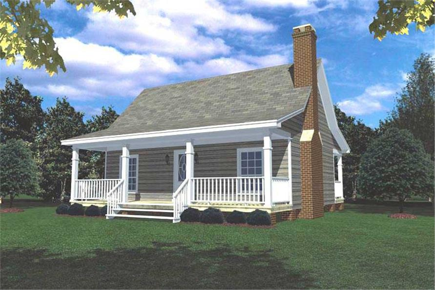Main image for house plan # 141-1140
