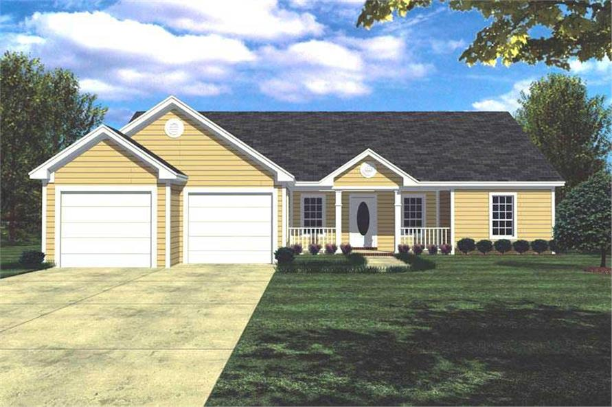 Main image for house plan # 7827
