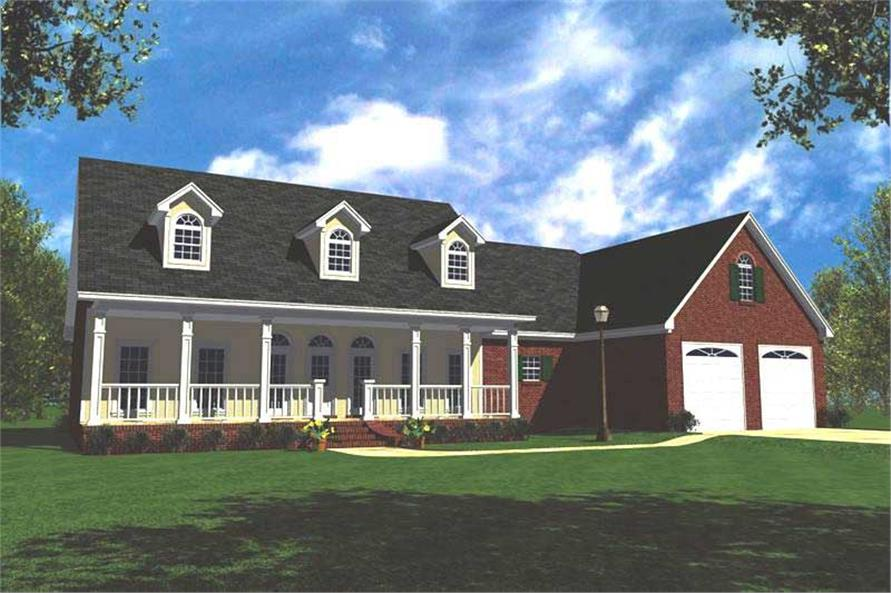 Main image for house plan # 7848